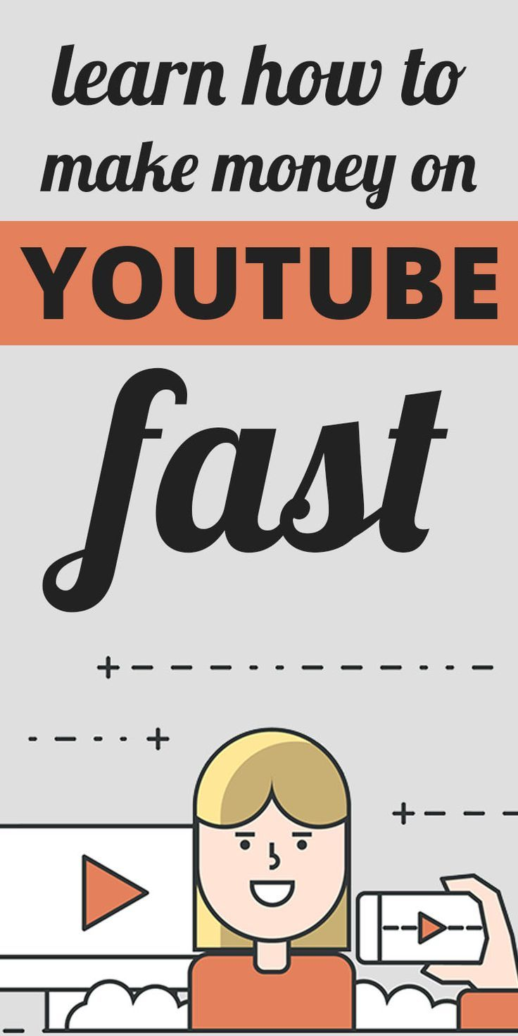 learn how to make money on youtube fast - How to start a ...