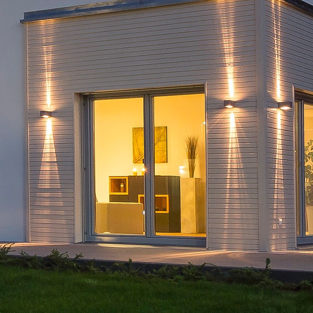 skapetze stream wandleuchte 2 strahlig up down. Black Bedroom Furniture Sets. Home Design Ideas
