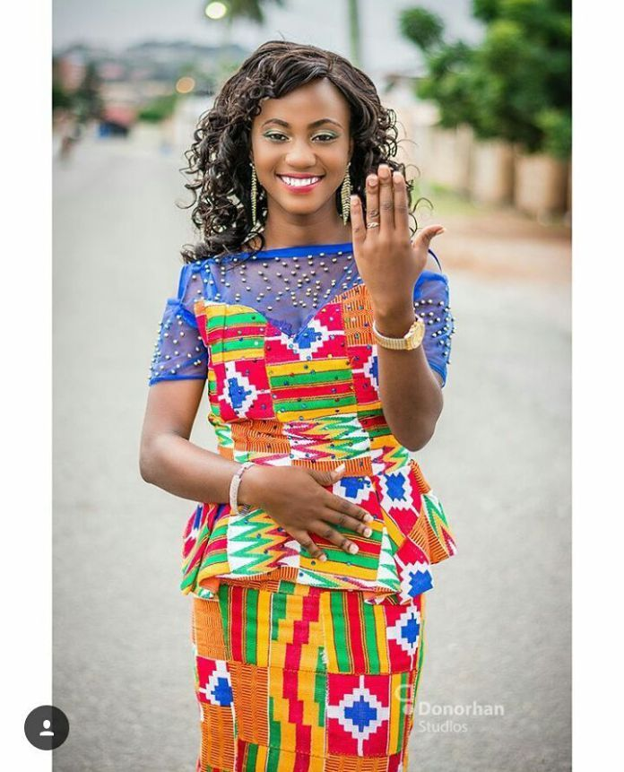 Kente Kaba And Slit, Latest African Fashion, Ankara
