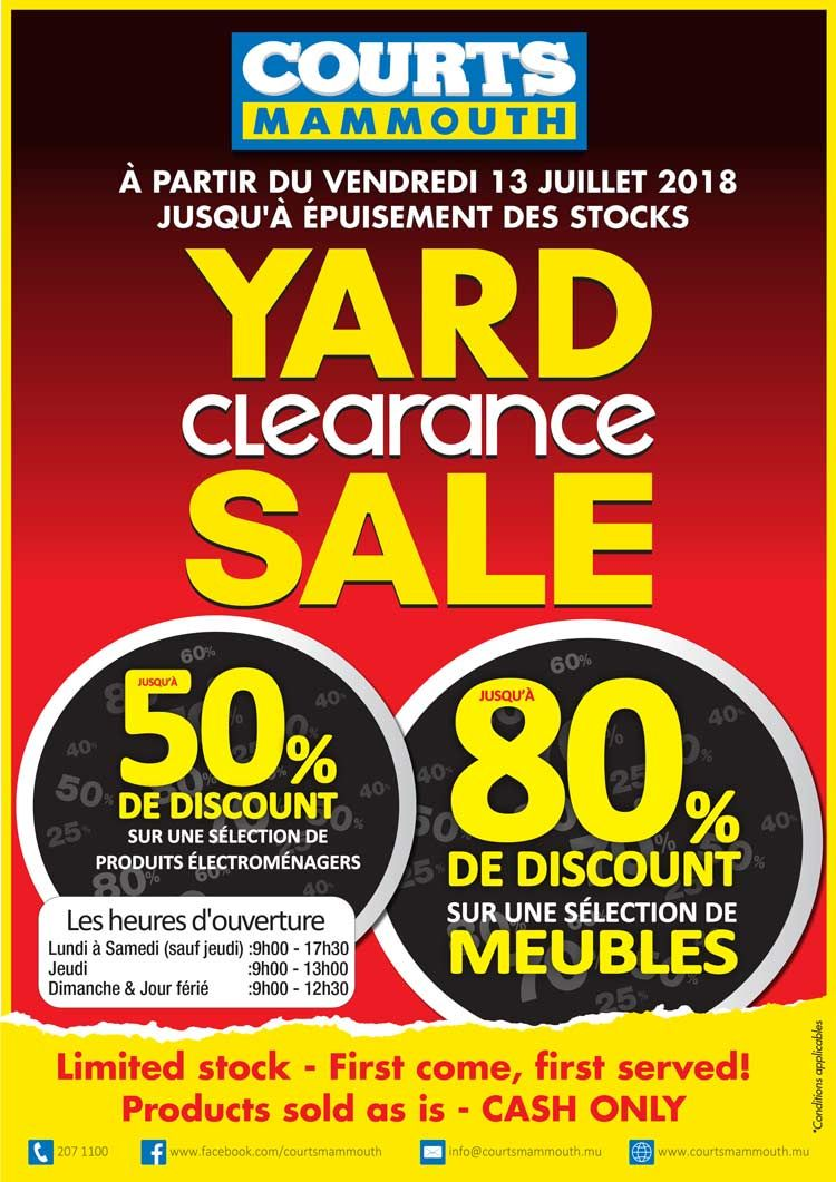 Pin By Bluefish Emarketing Mauritius On Shopping Court Adverts Clearance Sale
