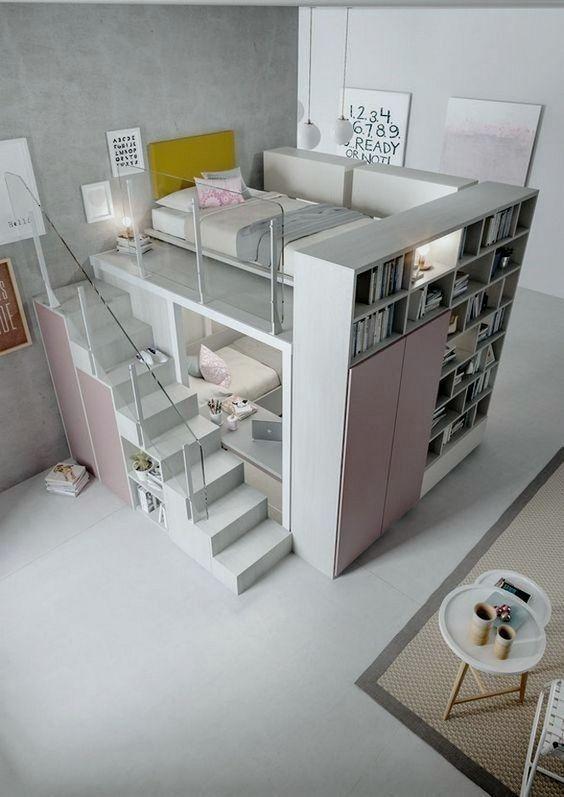 17 Ideas Of Modern Teen Room Decor interiordesignshome.com