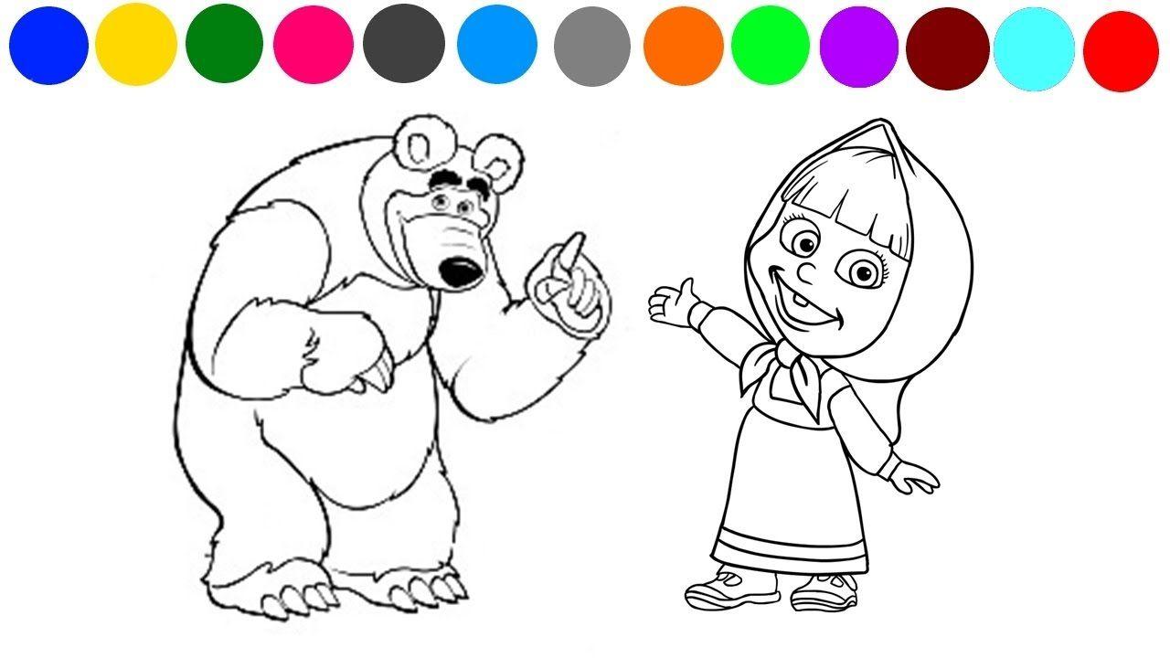 Dibujos Para Colorear De Macha Y El Oso: Resultado De Imagen Para Jos Para Colorear De Masha