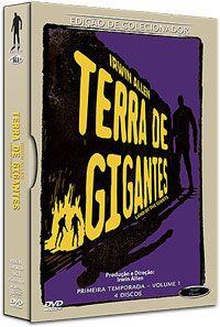 TERRA DE GIGANTES - 1º TEMPORADA - VOLUME 1 - (BOX C/ 4 DVD'S) | DVD WORLD