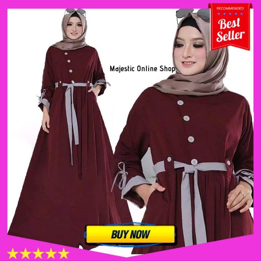 Harga Baju Gamis Wanita Terbaru 2019 Wanita Baju Muslim Muslim