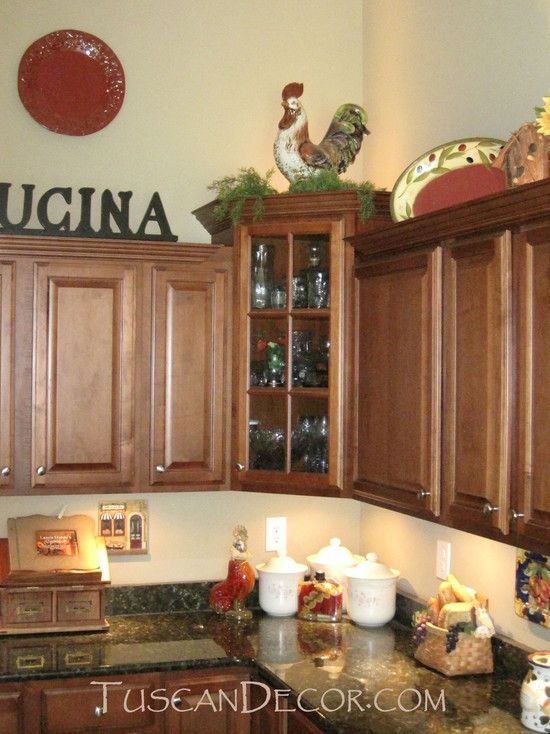 Tuscan Kitchen Decorating Design, Pictures, Remodel, Decor and Ideas ...