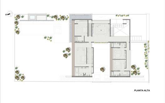 Casa La Planicie II,Planta