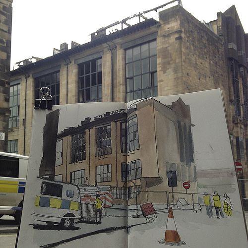 Glasgow School Of Art By Wil Freeborn, Via Flickr