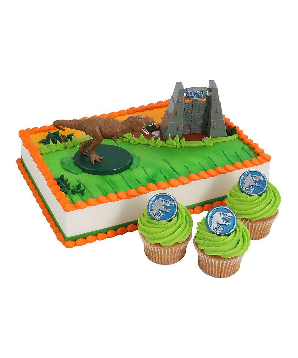 Jurassic World Cake Topper Cupcake Ring Set By Park Zulily Zulilyfinds