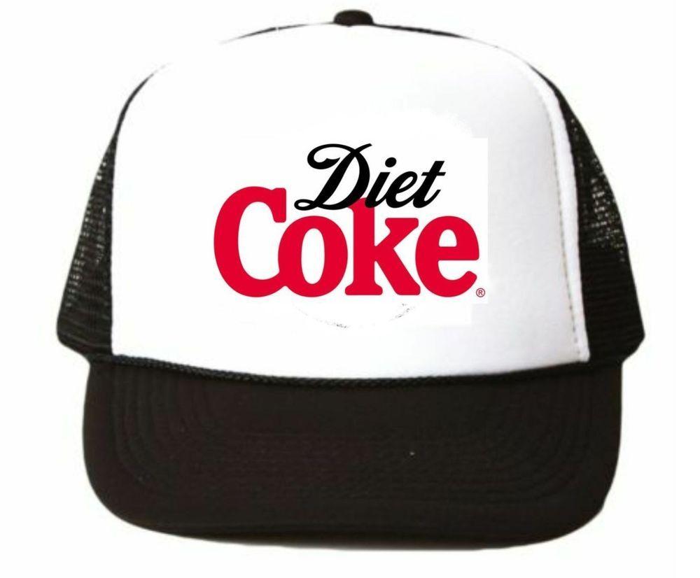 Coke Trucker Hat mesh hat snapback hat black