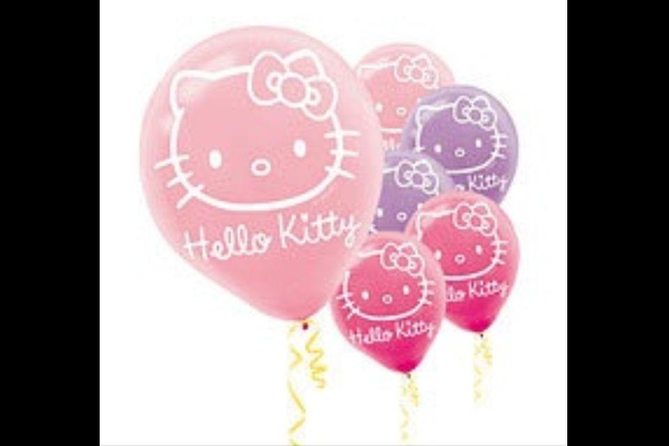 Hello Kitty Balloons