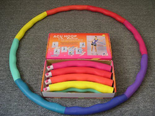 Weighted Sports Hula Hoop for weight loss - Acu Hoop 4M - 4 lb. medium $38.00
