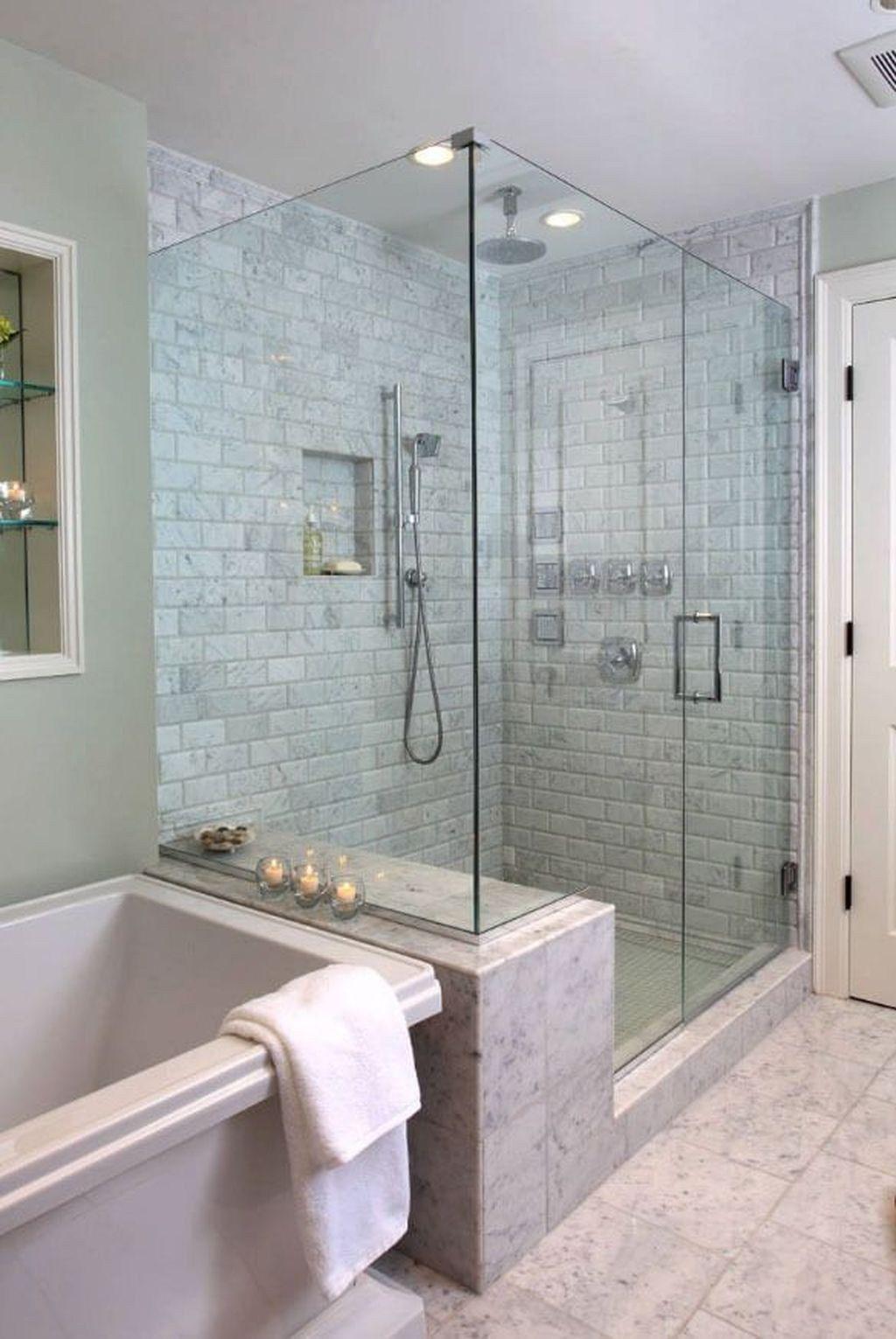 50 Beeindruckende Ideen Fur Die Dusche Im Bad Diy Und Deko Kleines Badezimmer Umgestalten Minimalistisches Badezimmer Dusche Umgestalten