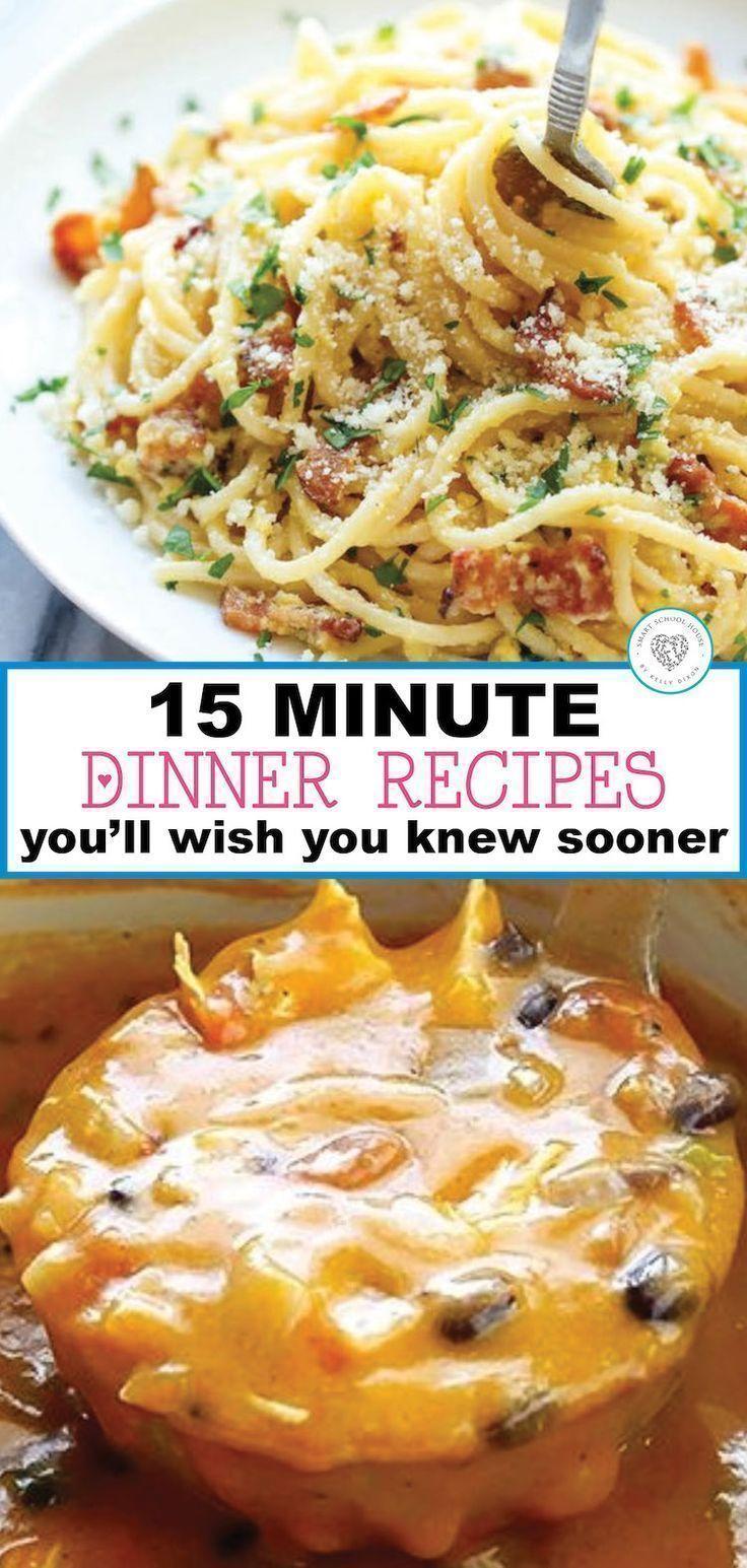 Delicious, Quick Dinner Recipe Ideas