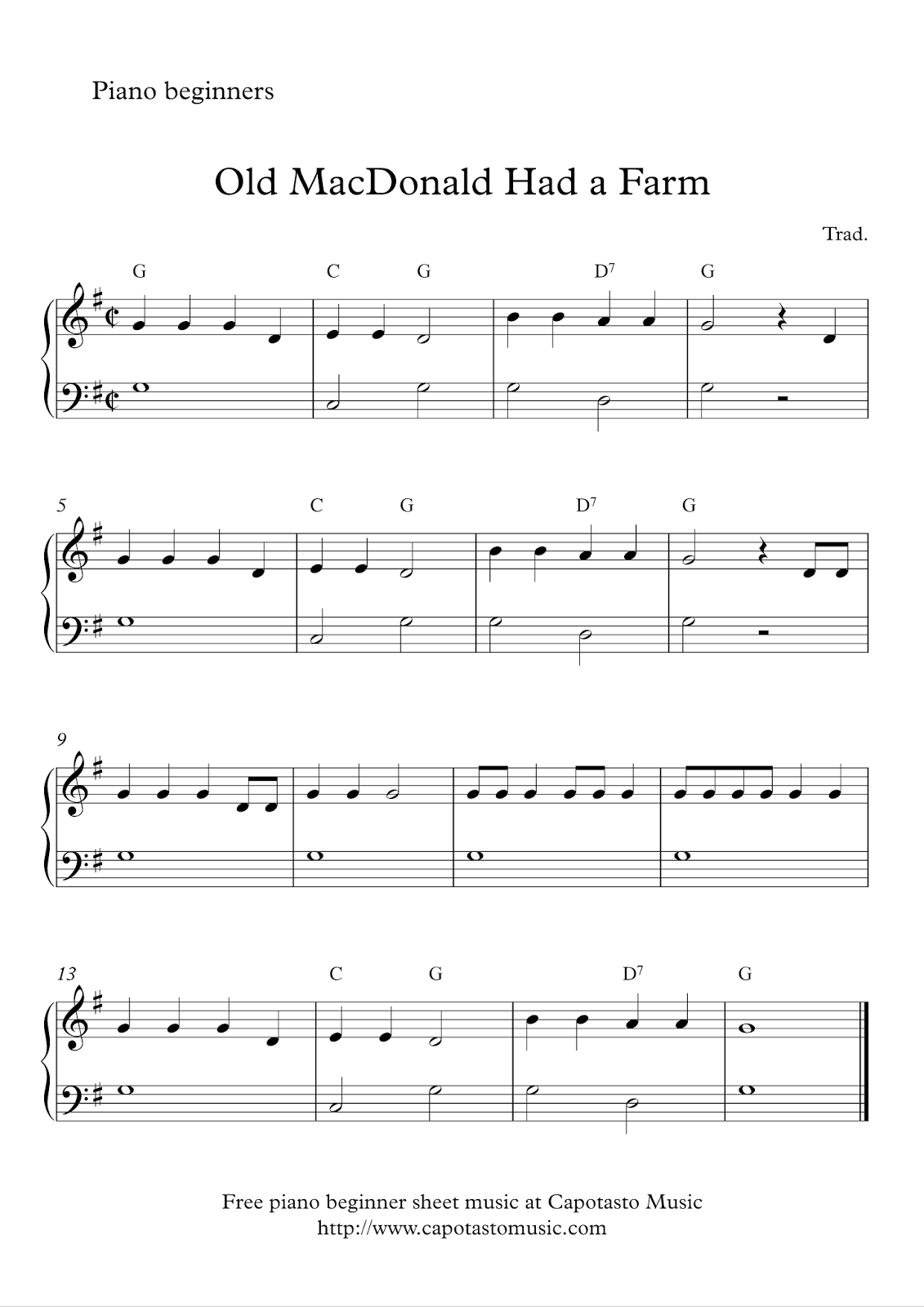 This Is An Easy Piano Solo Arrangement For Beginners Of