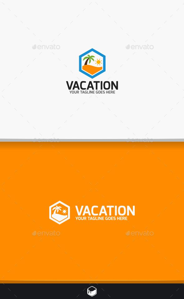 Vacation Logo Loghi, Tipi di logo e Loghi natura - vacation tracking template