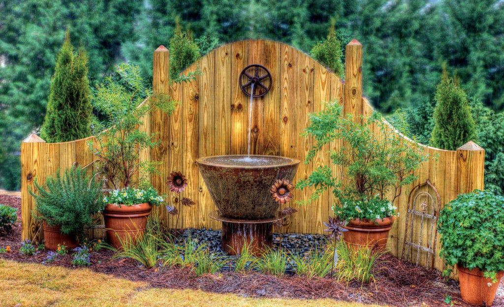 another amazing fountain unique garden ideas pinterest