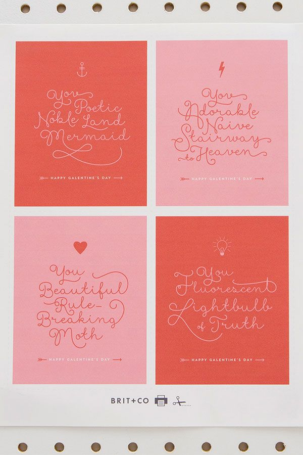 Freebie Diy Parks And Recreation Printable Leslie Knope Friendship Quotes Cards Perfect For Galentine S Da Galentines Galentines Day Ideas Galentines Party