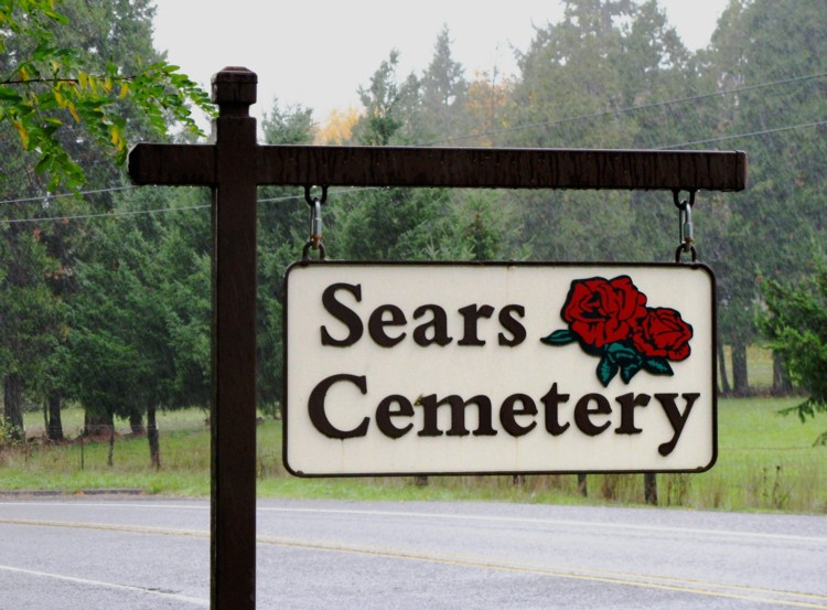 Sears Cemetery In Cottage Grove Oregon Find A Grave Cemetery In 2020 Cemetery Cottage Grove Sears