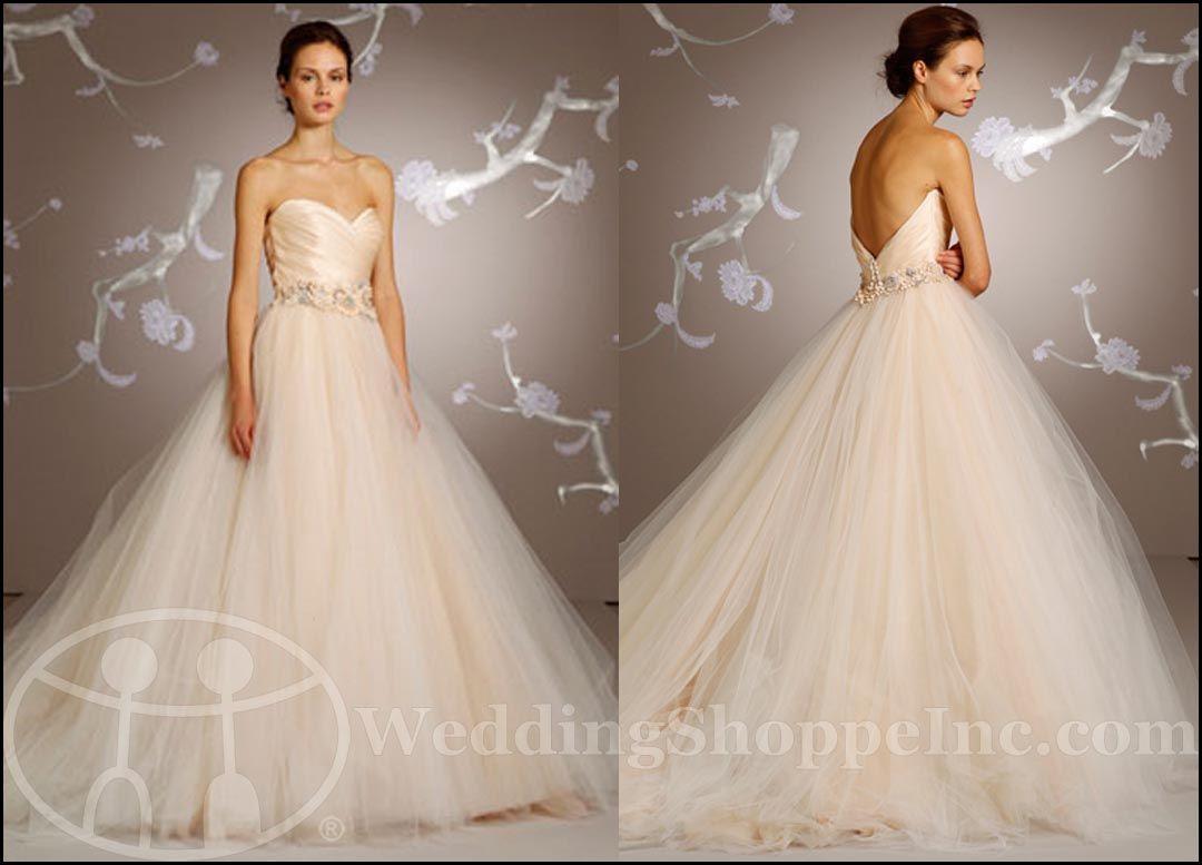 Wedding shoppe lazaro wedding dress ball gowns