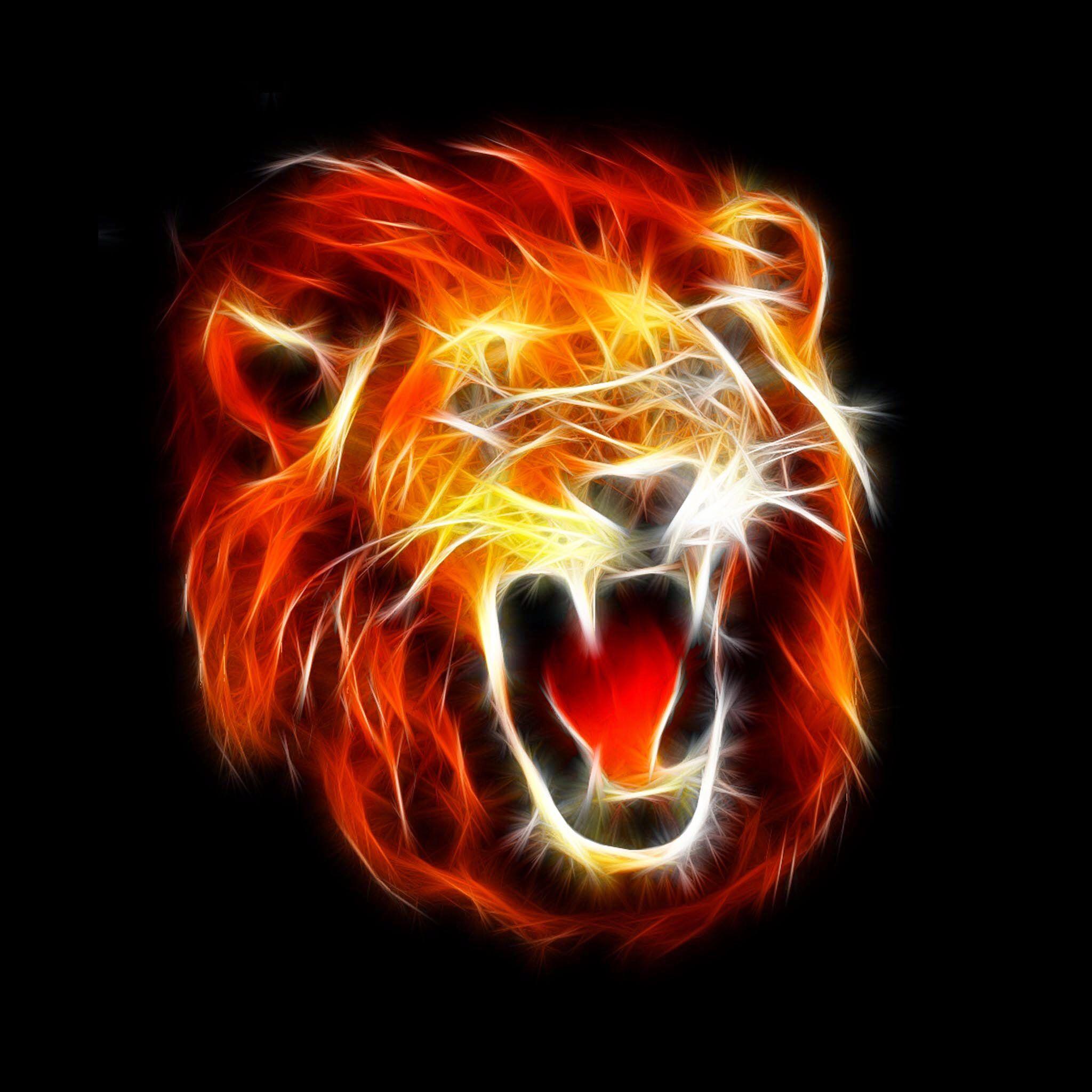 Photo Wallpaper Lion Wallpaper Lion Artwork Lion Pictures Fire lion wallpaper hd download