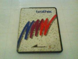 tarjeta de memoria bordadora brother