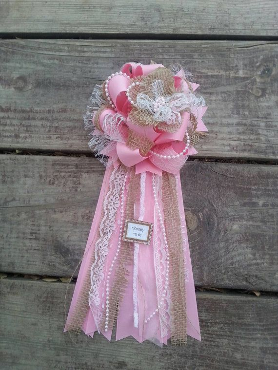 Baby Shower Mum Baby Shower Corsage Is Perfect For The Mom To Be To Wear At