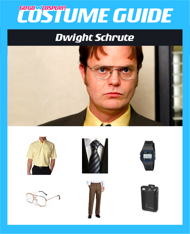 Dwight Schrute Costume From The Office Diy Guide For Cosplay