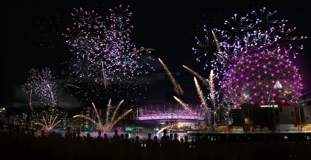 Reminder New Year S Eve Fireworks In Vancouver Cancelled Listed New Years Eve Fireworks Canada Day Fireworks New Years Eve