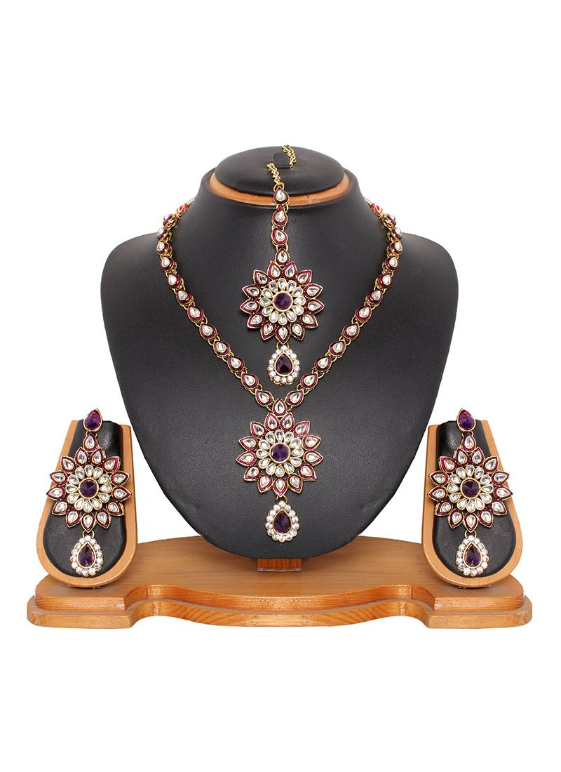 Classy necklace set jewels pinterest latest jewellery fashion