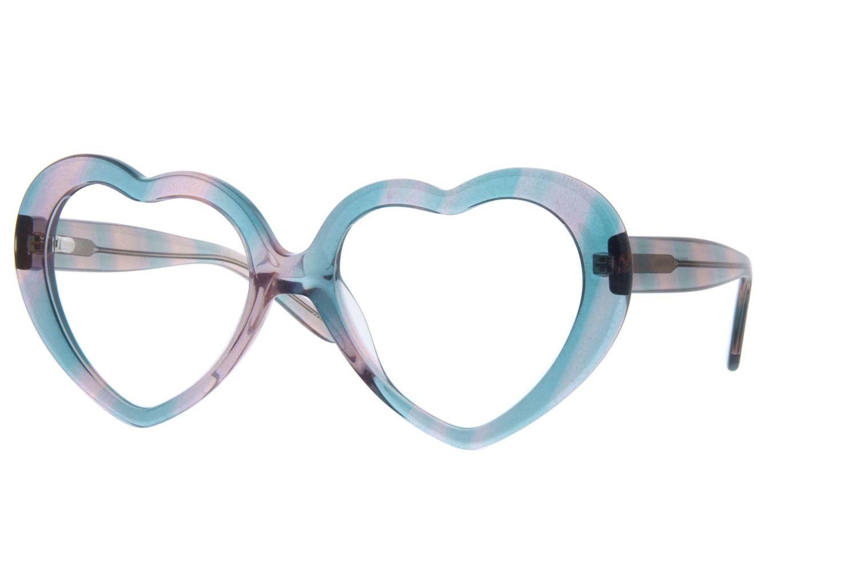 Translucent Heart-Shaped Eyeglasses44210   Designer eyeglasses
