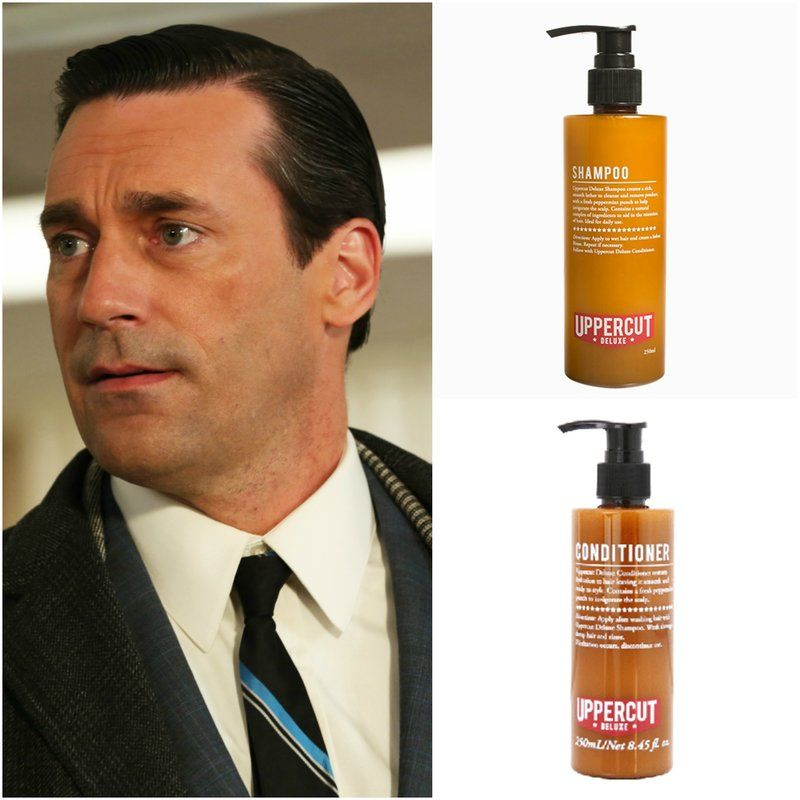 Mad Men Don Draper Haircut Shampoo Product