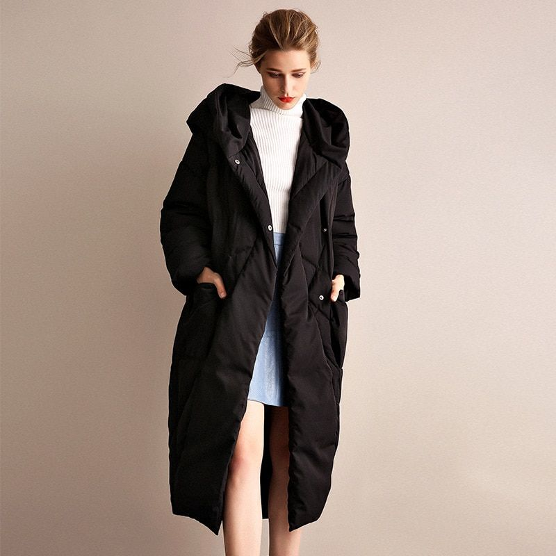 36a28a23e 2018 Russian Winter Winter Jacket Women Coat Fashion Loose Plus Size ...