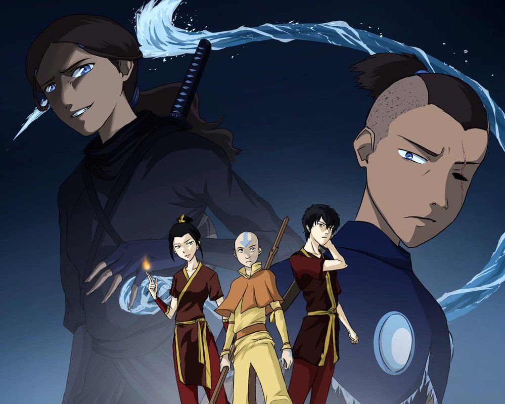 Distorted Reality By Axxonu Then Everything Changed When The Water Tribe Attacked Tho Wou Avatar Characters Avatar Airbender Avatar The Last Airbender Art
