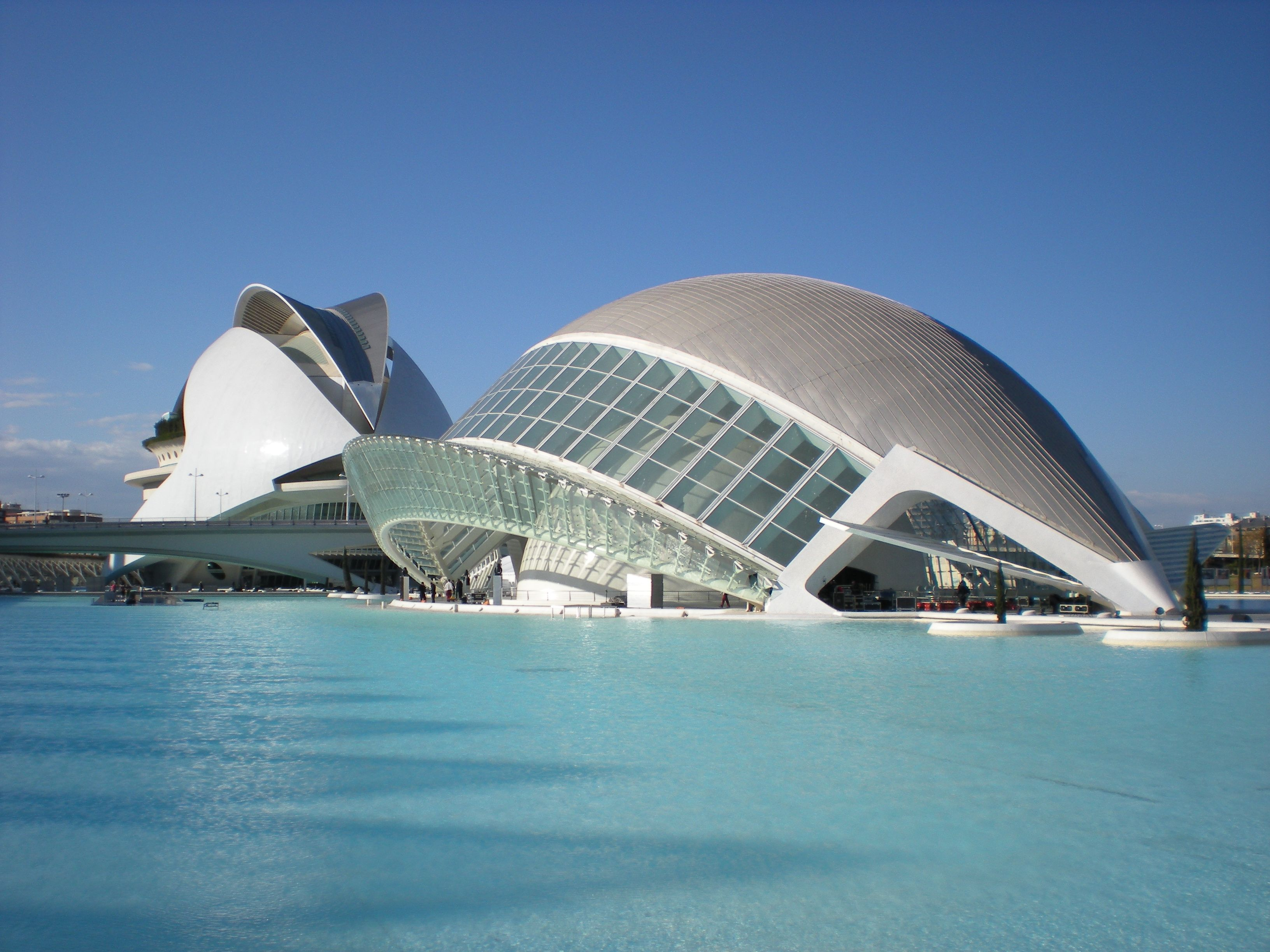 City of Arts and Sciences in Valencia Spain Arquitetura
