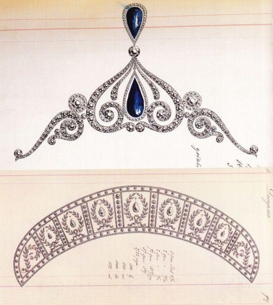 How To Draw Diamond Tiara