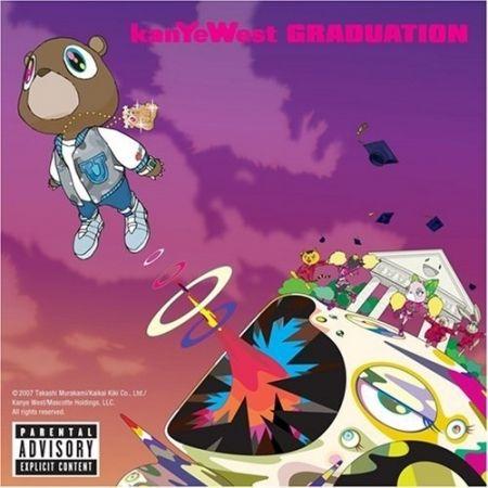 Kanye West Graduation Album Cover Kanye West Album Cover Graduation Album Rap Album Covers