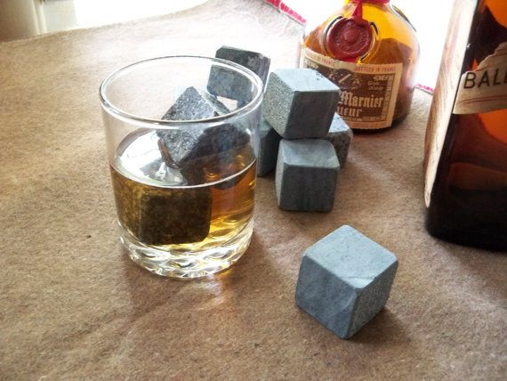 Whiskey Cubes Black Ice Organic Cooling Cubes By Rekamepip On Etsy