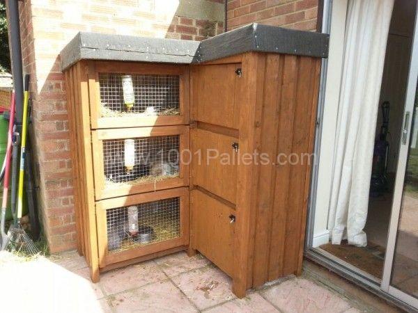 IMG 20140503 WA0001 600x450 8ft corner rabbit hutch in pallet garden  with rabbit hutch pallet