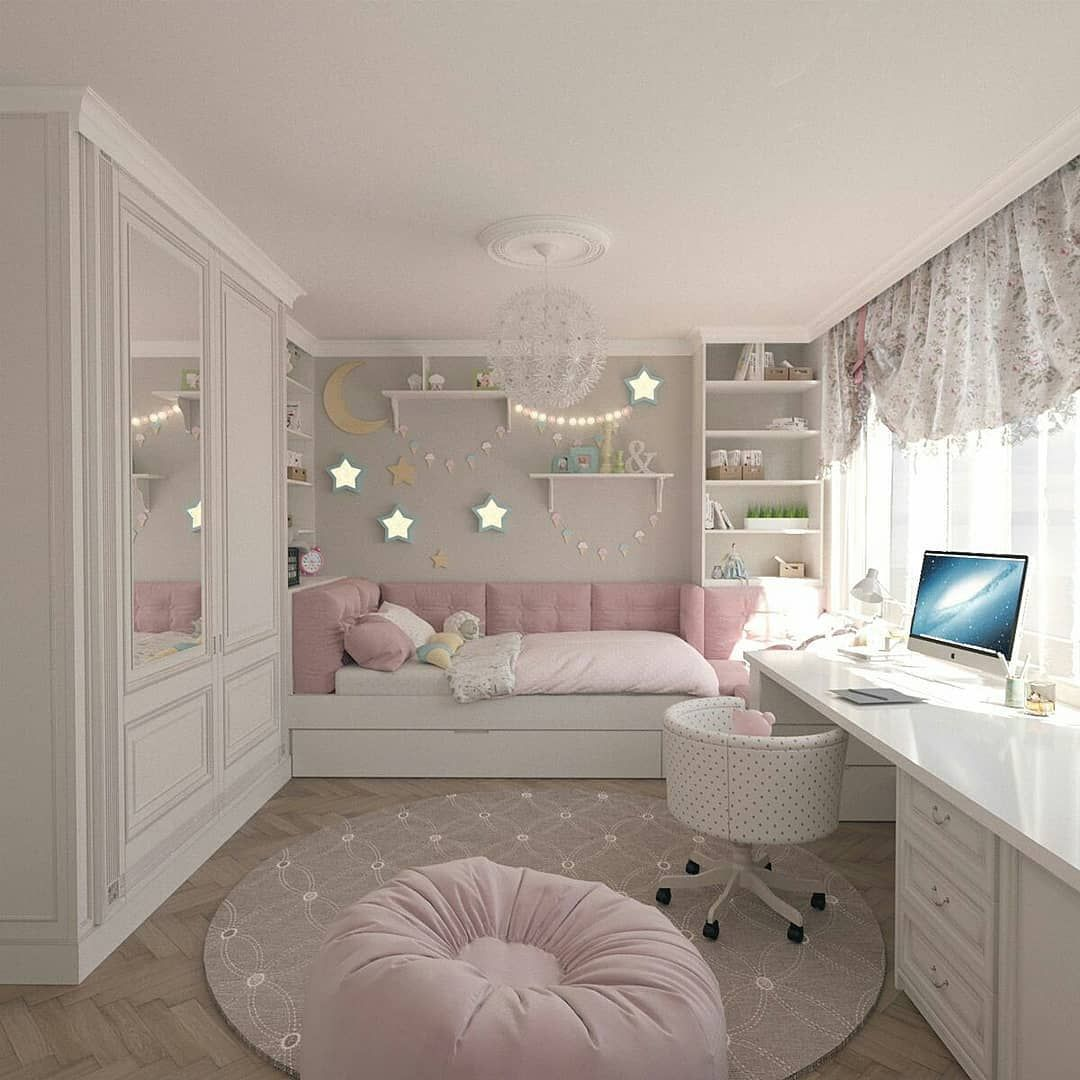 44 Stylish Ways To Decorate Your Children S Bedroom Interior Design Interior Design Ideas Interior Design Girl Bedroom Decor Cute Bedroom Ideas Bedroom Themes