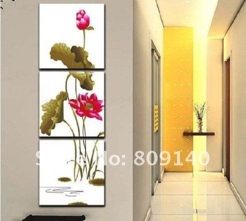 Lotus Artwork for Office Walls | ... Lotus Asia Artwork Quality ...
