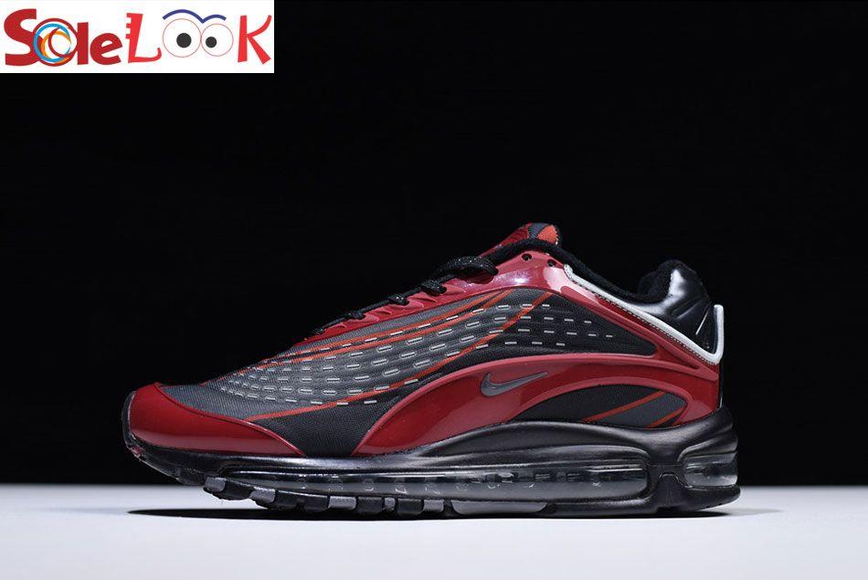New Red Men's Kpu Air Max Black Nike Designer Deluxe 1999 Og