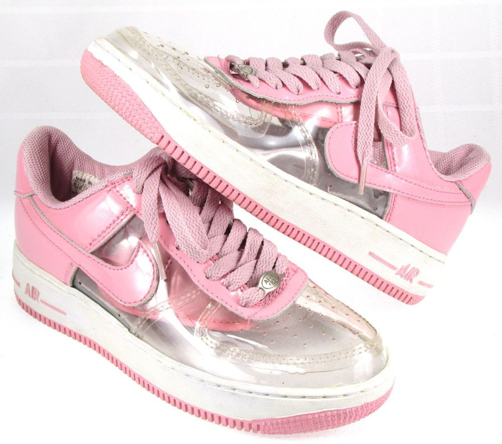 Invisible Sneakers Nike 2000 Tops Force 1 Woman Air Pink Low ARj354Lq