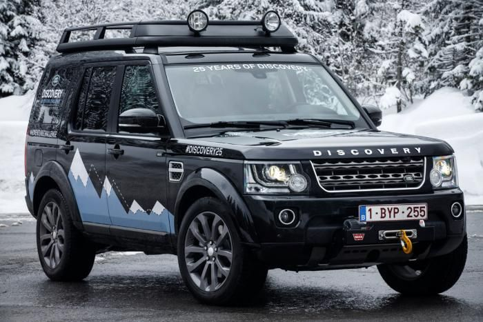 25th Anniversary Xxv Special Edition Discovery The Land Rover