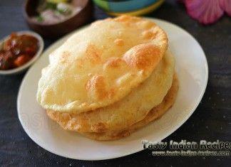 Paneer stuffed bhatura recipe indian breakfast pinterest paneer stuffed bhatura recipe tasty food forumfinder Gallery