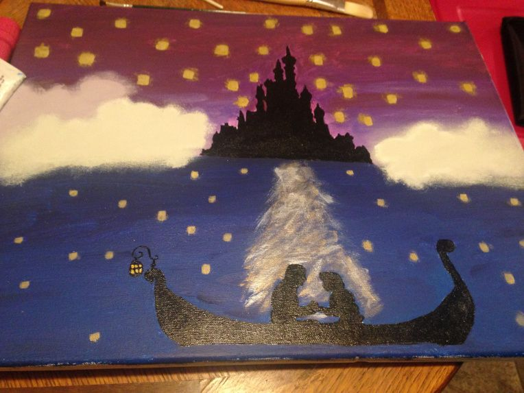 Tangled Painting Tangled Painting Painting Art Projects Painting