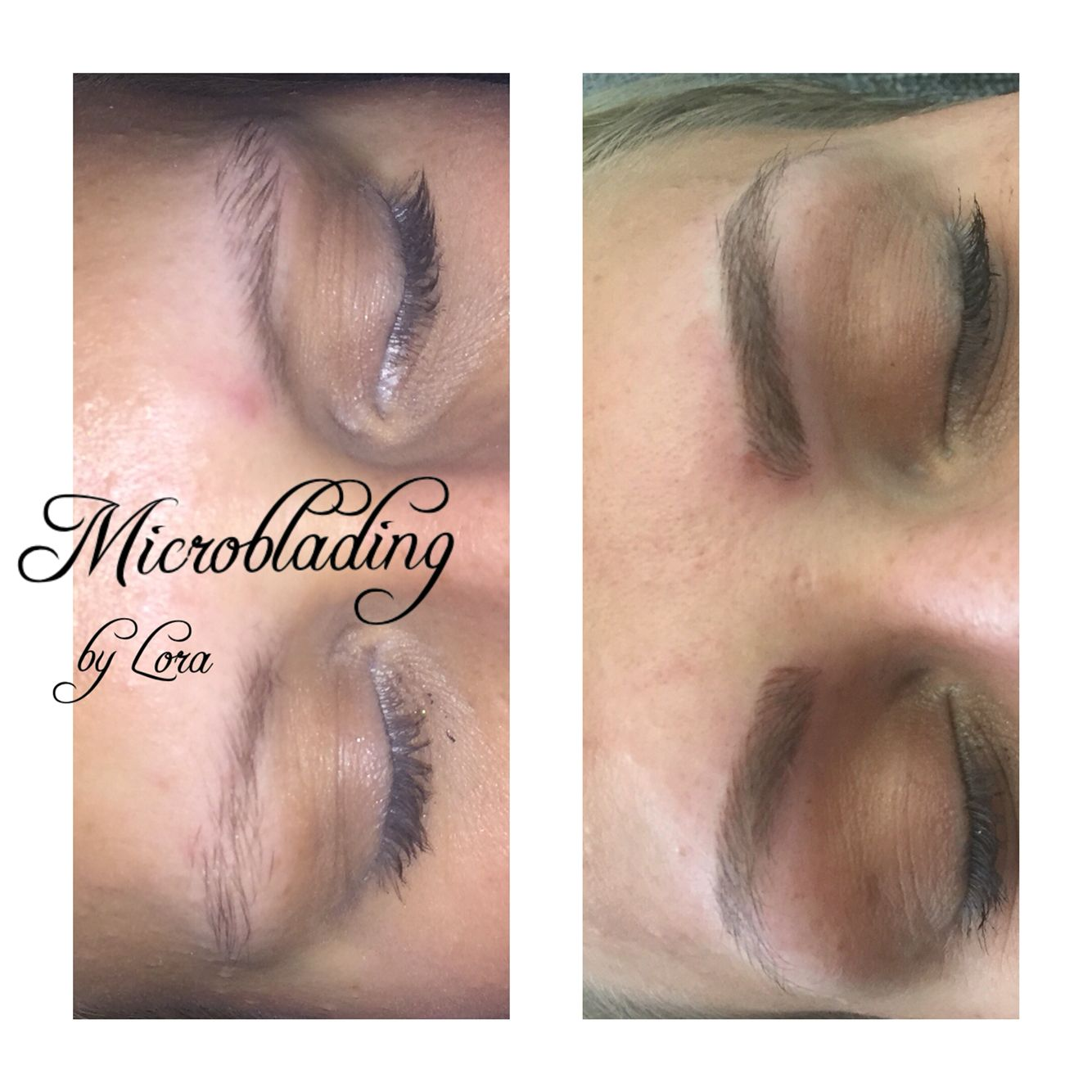 Microblading By Lora Haar Nagelboutique Augenbrauenkorrektur Augenbrauen Microblading Erlangen Nurnberg Behind Ear Tattoo Microblading Ear Tattoo