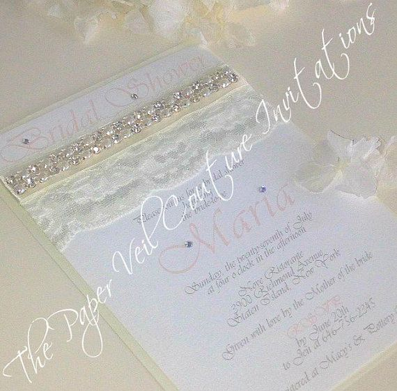 Glitz And Glamour Vintage Lace Collection 1 Pearls Bridal Shower Baby Weddi