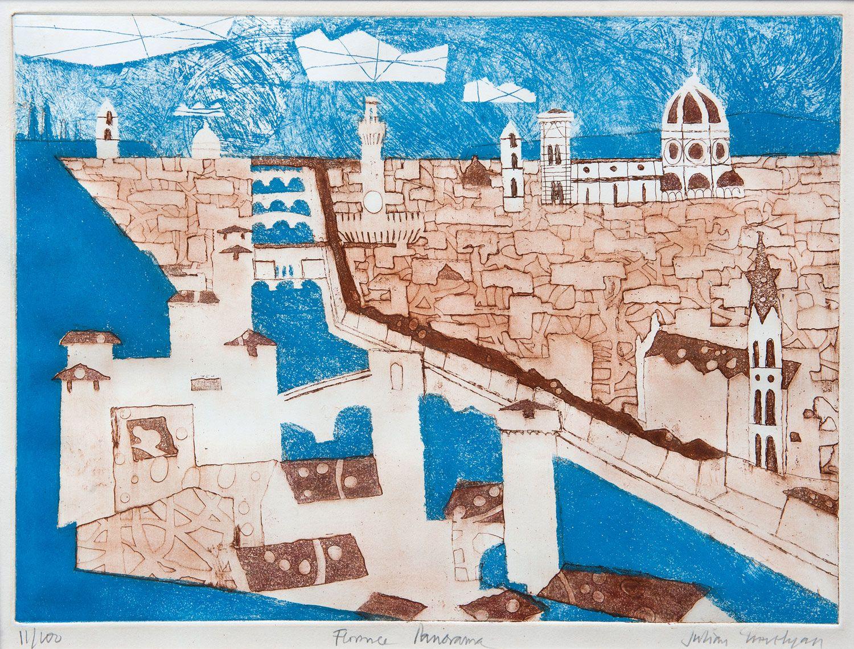 Julian Trevelyan Florence Panorama