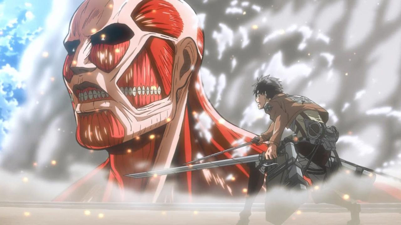 Shingeki No Kyojin Attack On Titan O Anime De 2013 Attack