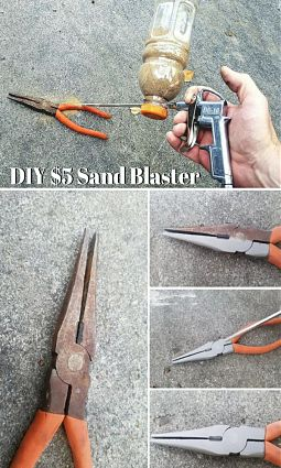 Sandblasters Are Handy To Have Available To Remove Paint